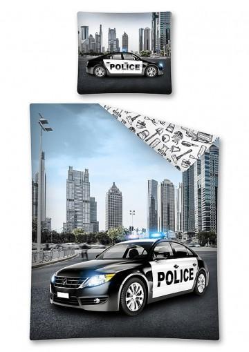 Ágyneműhuzat Rendőrautó 140 200 e03289a472