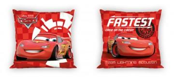 Kispárna huzat Cars piros micro 40 40 1bd0f44c9c