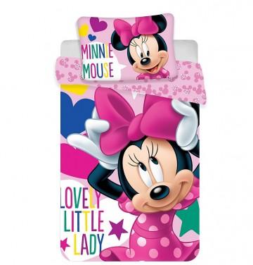 Ágyneműhuzat kiságyba Minnie baby 100 135 2261379258