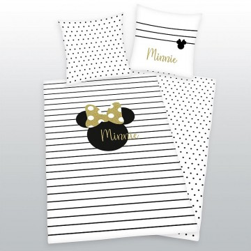 Ágyneműhuzat Minnie Gold 140 200 a171d46b14